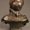 Bronze bust of gypsy woman by Benthous A1165D