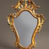 Polychromed Venetian mirror A1447A