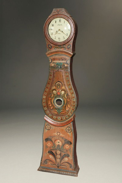 Swedish Tall Case Clock A1564A