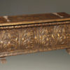 Italian gilded and hand carved cassone  A1833A