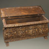 Italian gilded and hand carved cassone  A1833B