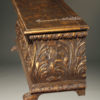 Italian gilded and hand carved cassone  A1833C