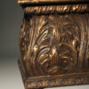 Italian gilded and hand carved cassone  A1833F