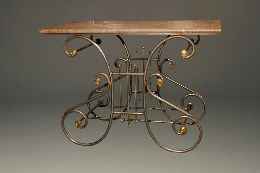 Antique French Wrought Iron Butcherᄡs