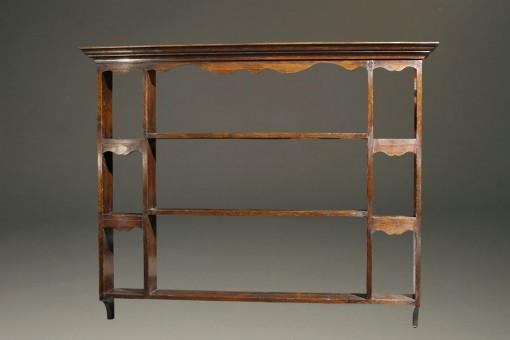 Oak plate rack A2003A