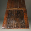 Antique French farmhouse table with draw leaves A2054F