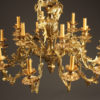 18 arm French antique bronze chandelier A2084F