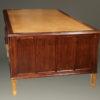 French satinwood and prima vera mahogany, Napoleon III partners desk A2251C