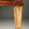 French satinwood and prima vera mahogany, Napoleon III partners desk A2251E