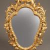 Pair of Italian gilded mirrors A2258B