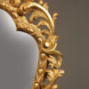 Pair of Italian gilded mirrors A2258D