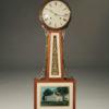 Mahogany new have Clock Co. banjo style clock, circa 1930.