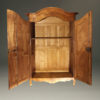 Very unusual French Neo Classic armoire with ball and claw feet A4342E