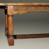 Late 19th century antique English farmhouse table A4399E