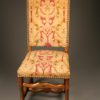 15 of 60 French Louis XIII Style Antique chairs. Even sets available A4689B