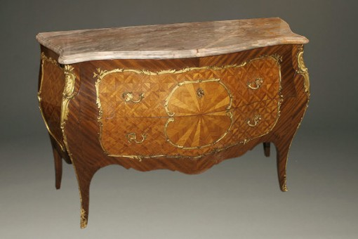 20th century French marble top commode A4882A1