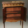 French Empire Style Antique Buffet With Marble Top A5130B