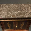 French Empire Style Antique Buffet With Marble Top A5130D