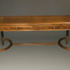 1930's antique writing table by Stowe Davis A5209A1