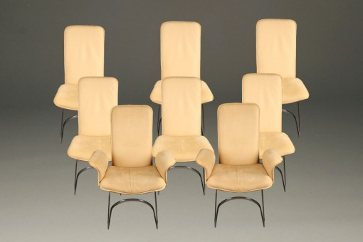 Set of 8 De Sede chairs A5228A1