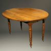 Antique 19th century French walnut kitchen table A5239A1