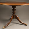 Early 20th century Sheraton style antique breakfast table A5243A1