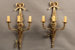 Pair of bronze sconces A5250A1
