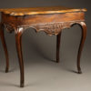 19th century antique occasional table from Liege Belgium A5262A1