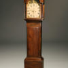 19th century antique English tall case clock A5268A1
