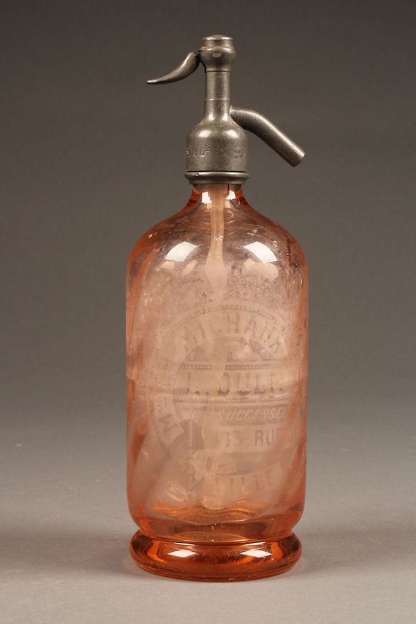 Antique French syphon/seltzer bottle A5283A1