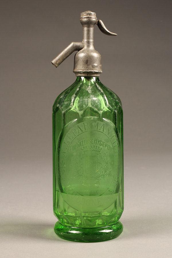 Antique French syphon/seltzer bottle A5285A1