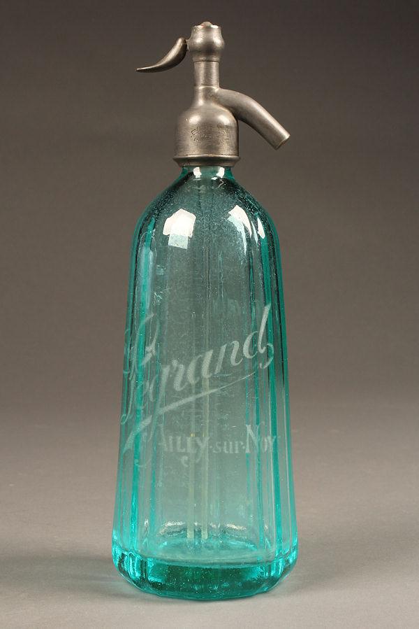 Antique French syphon/seltzer bottle A5286A1