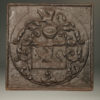 17th century fireback with coat of arms A5289A1