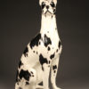 Life sized ceramic Great Dane A5296A1