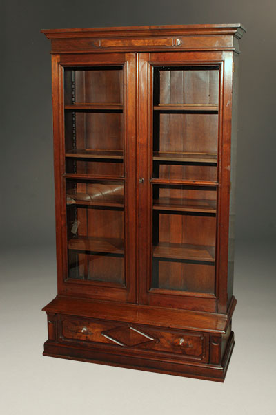 19th century Eastlake Victorian bookcase A5297A1