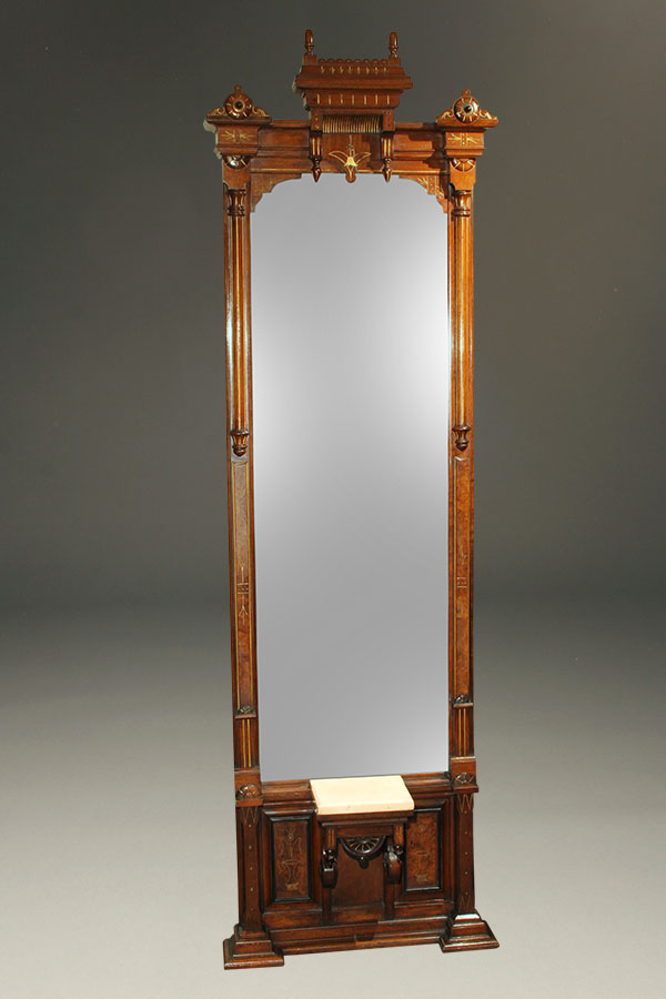 Antique American Eastlake Style Mirror