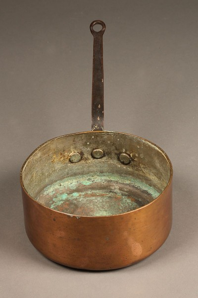 A5304C-copper-pot-pan-wrought