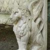 A5330D-bench-garden-stone-lions
