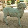A5331A-garden-statue-ram-bronze1