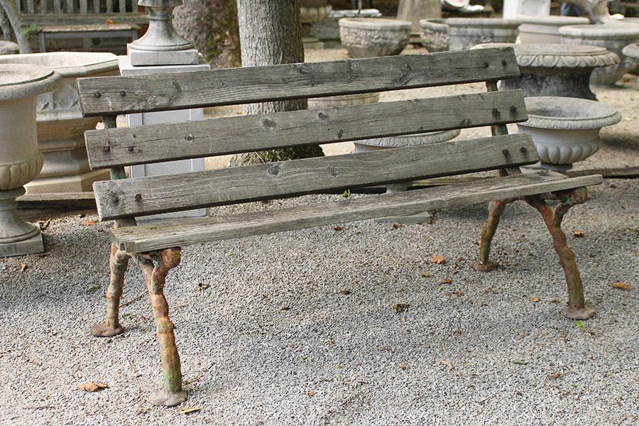 Antique English Garden Bench, Antique Garden Bench
