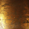 A5342D-antique-rosewood-copper-coffee-map-table