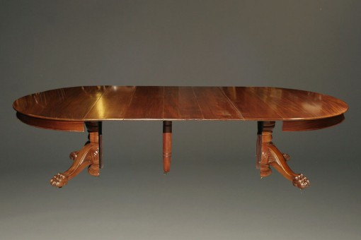 A5345A-antique-dining-table-ball-claw-mahogany1