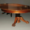 A5345C-antique-dining-table-ball-claw-mahogany
