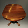 A5345D-antique-dining-table-ball-claw-mahogany