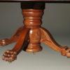 A5345E-antique-dining-table-ball-claw-mahogany