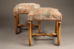 Pair of antique French stools A5353A1