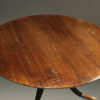 A5377D-english-round-leaves-dining-table-walnut