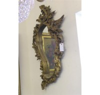 19th century French Rococco gilded mirror, circa 1870