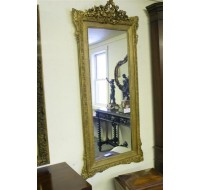 Nice 19th century French Louis XV mirror, circa 1850-60
