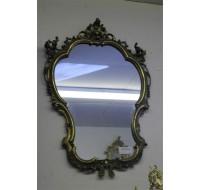 Louis XV style gilded mirror, circa 1870